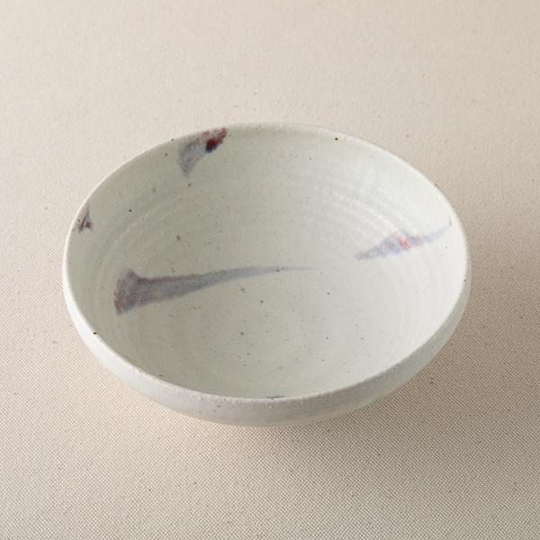 南窯 彩御深井 丸平鉢
