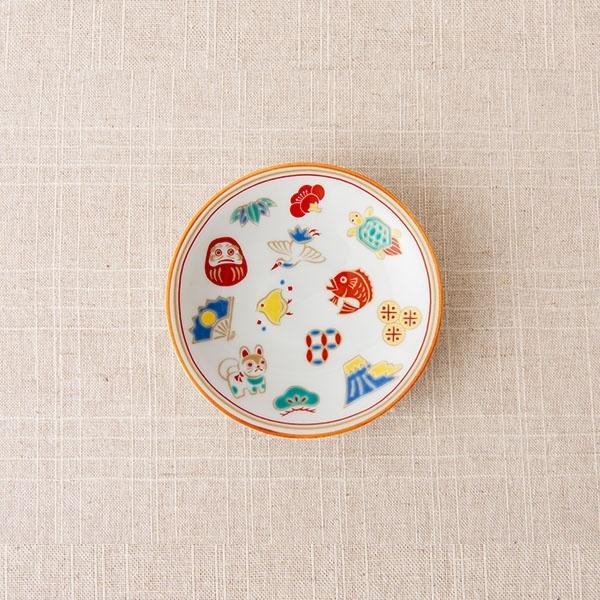 AKOMEYA TOKYO x 九谷燒 豆皿 吉祥圖案