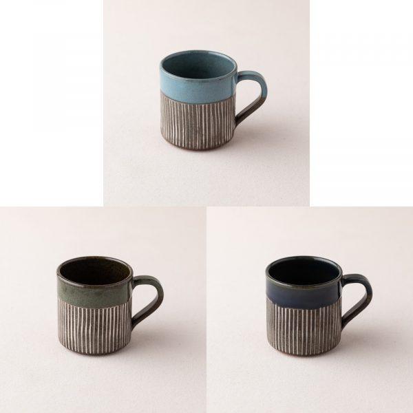 正陶苑 直紋杯
